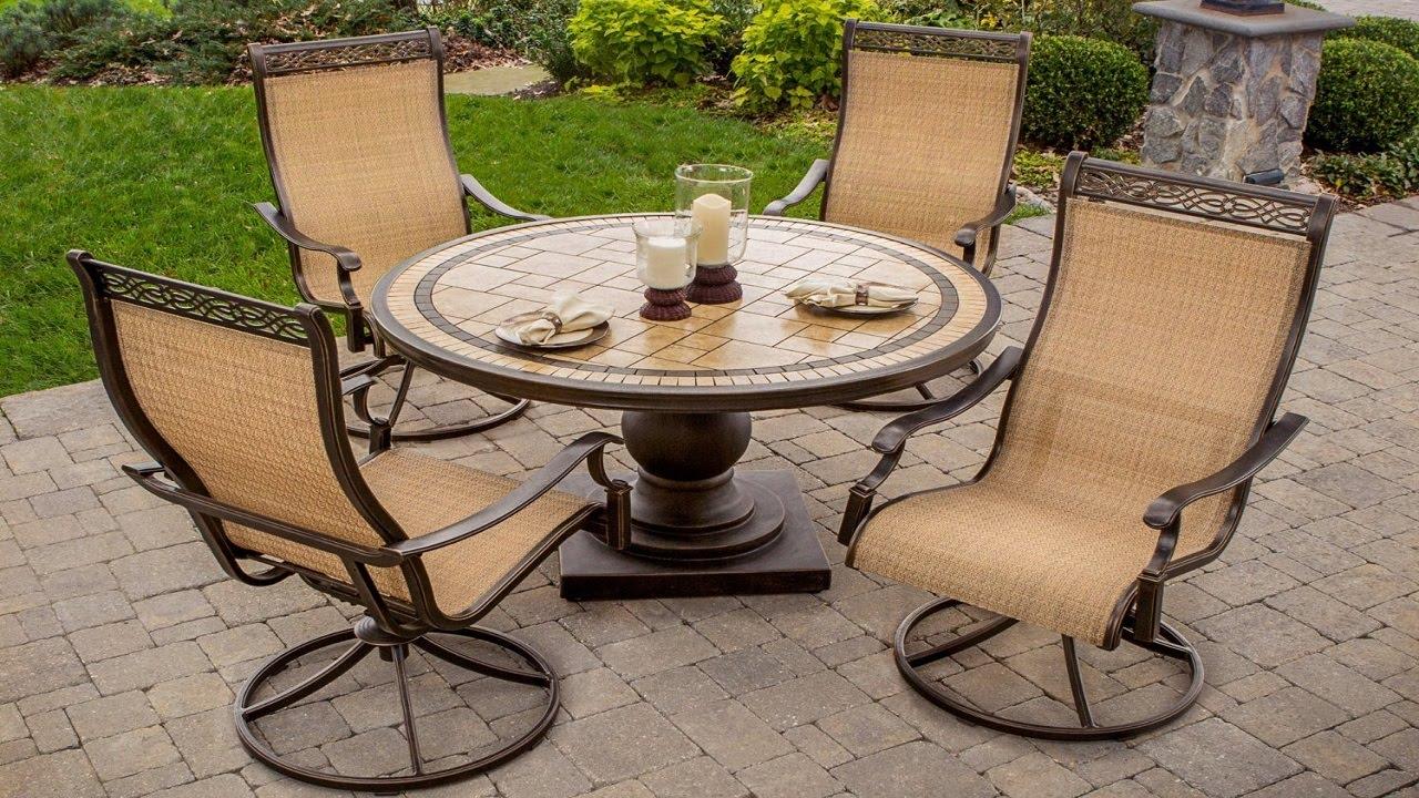 Patio Furniture All the Comforts of Indoor LivingOutdoors