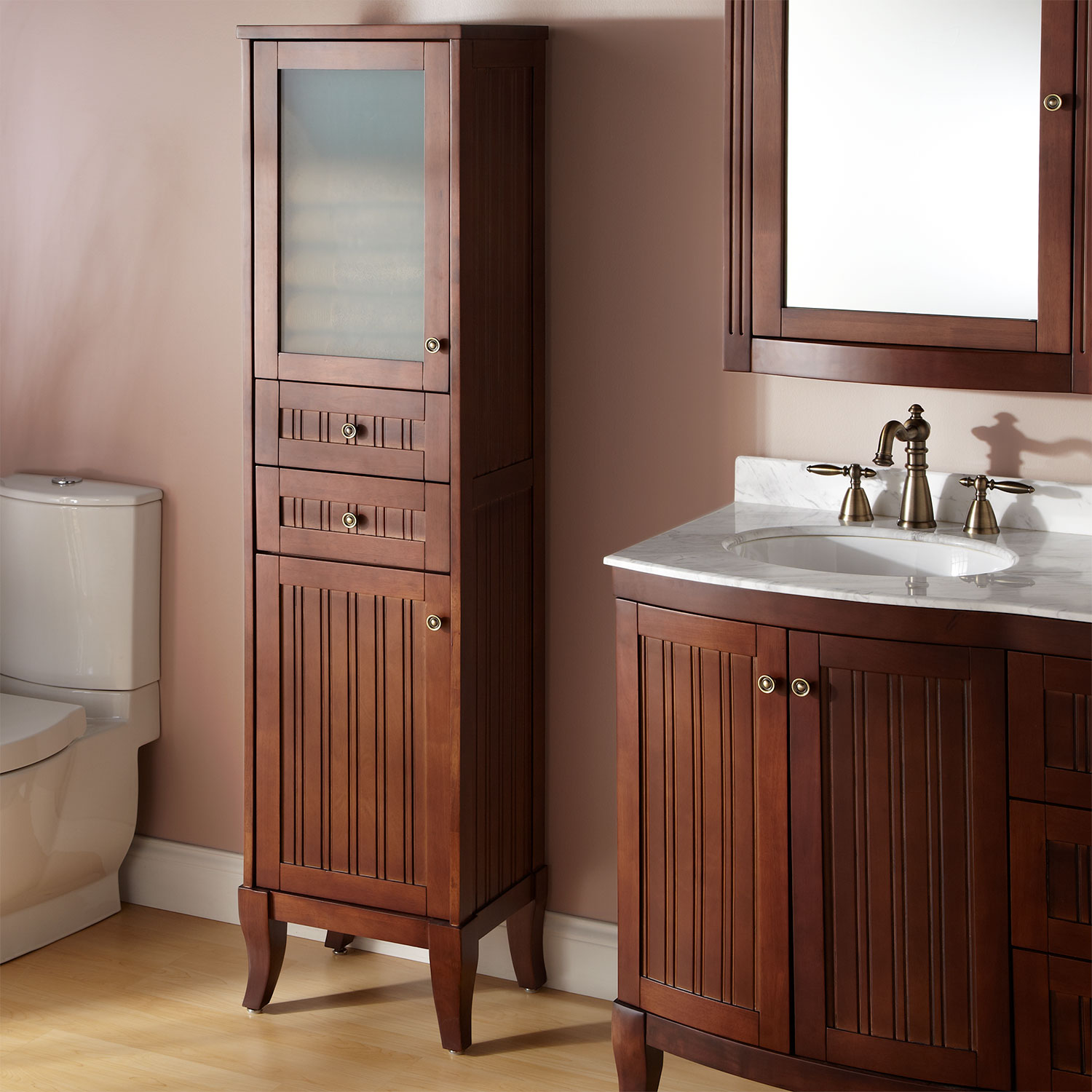 Bathroom Storage - Bathroom Vanity - quinju.com