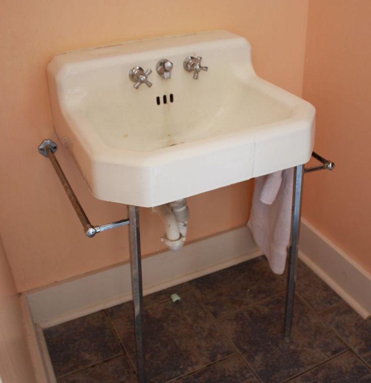 Vintage Bathroom Sink Legs House Decor Ideas