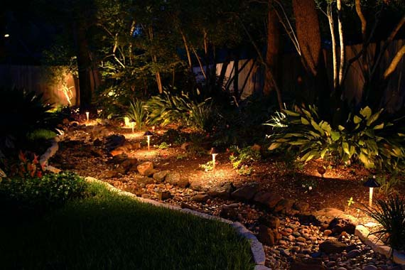 Outdoor lighting for landscaping projects for Volt landscape lighting