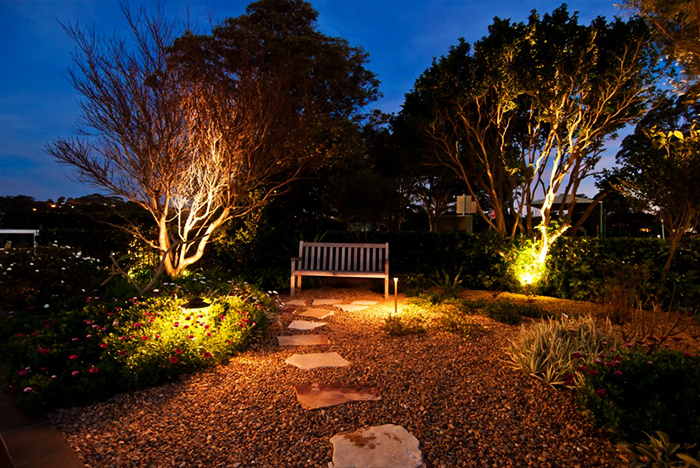 Outdoor lighting for landscaping projects quinju outdoor lighting focus lights quinju mozeypictures Gallery