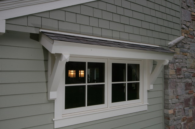 Craftsman Exterior Window Overhang Quinju Com