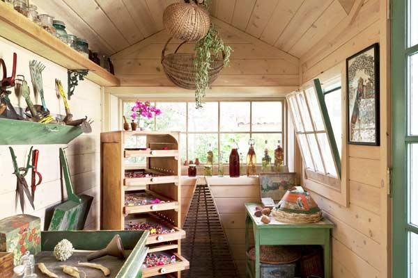 Garden Sheds Inside garden sheds, storage sheds, not your parent's shed.