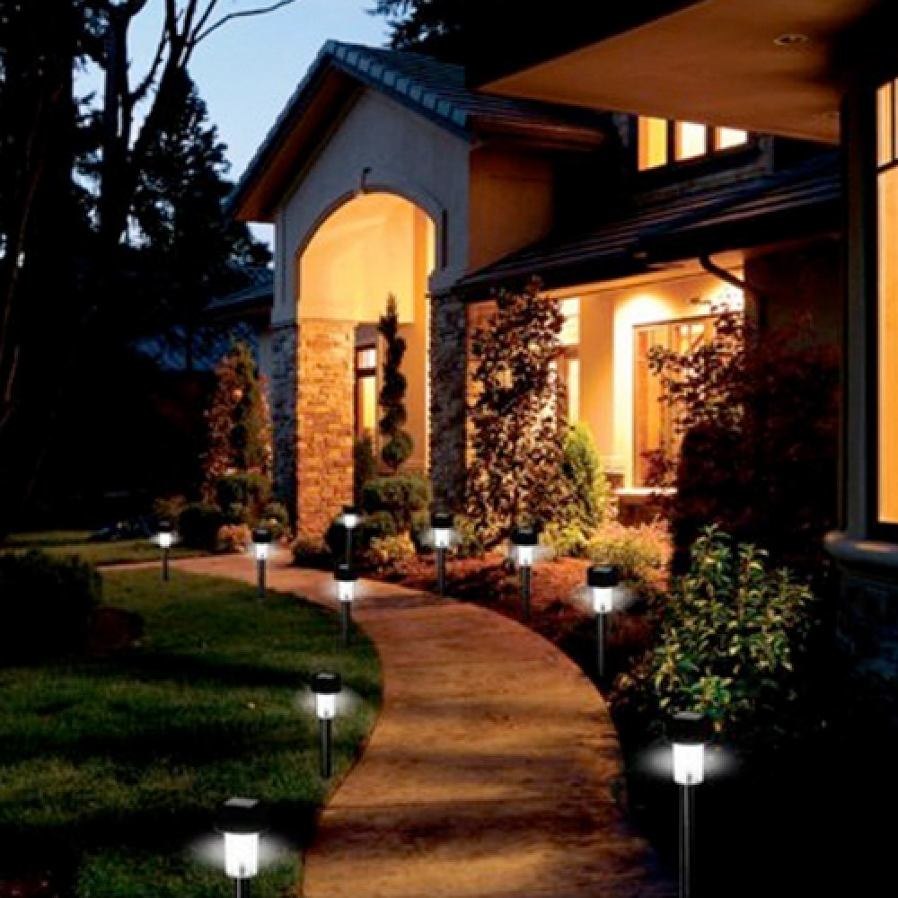 outdoor lighting solar path lights